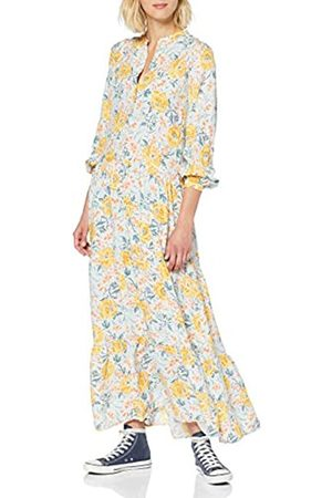 warehouse Women's Ornate Vines Tiered Maxi Dress