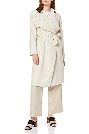 Koton Women's Trenchcoat Ohne Knopfleiste Coat