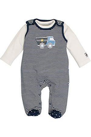 Salt & Pepper Salt and Pepper Baby Boys' NB Playsuit Fun Time Stripe Footies