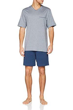 Seidensticker Men's Sj Jacquard Anzug Kurz Pyjama Set