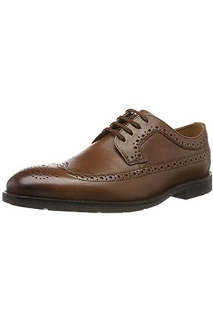 Clarks Ronnie Limit, Men's Brogue, (British Tan Leather)