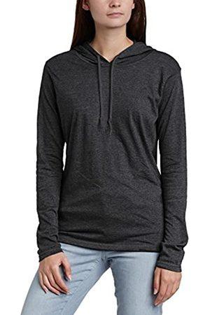 Anvil Women's Basic Long Sleeve Hooded T-Shirt