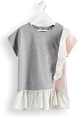 RED WAGON Amazon Brand - Girl's Frill Tunic Top, 5 Years