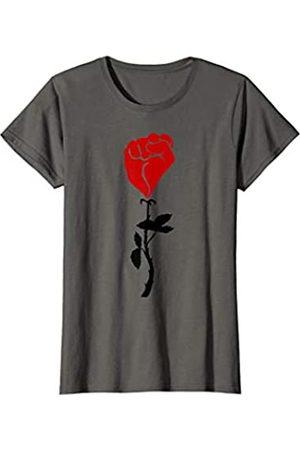 Merch Originals - Movement Womens Fist Flower T-Shirt