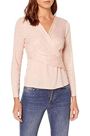 Dorothy Perkins Women's Jersey Wrap Long Sleeve Top