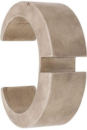 PARTS OF FOUR Bracelets - Crescent Rift 30mm bracelet