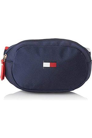 Tommy Hilfiger Unisex-Child Th Kids Flag Bumbag Bag ( Iris)