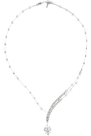 Yeprem Gold and Diamond Y-Not Necklace
