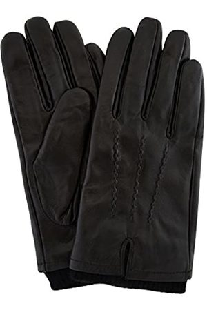 Snugrugs Mens Premium Soft Leather Glove with Thick Knitted Cuff