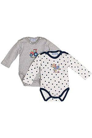 Salt & Pepper Salt and Pepper Baby Boys' BG Body Set Print Bodysuit
