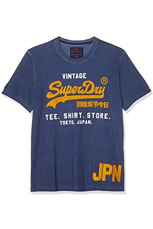 Superdry Men's Shirt Shop Duo Overdyed Tee Kniited Tank Top