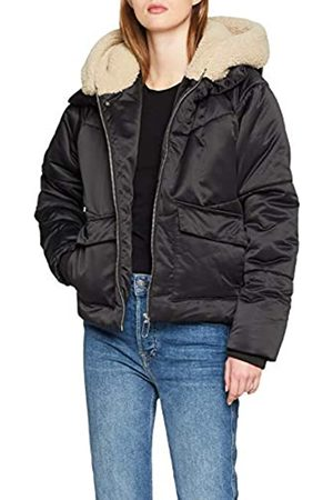 Urban classics Women's Ladies Sherpa Hooded Jacket