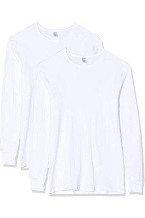 Abanderado Men's Pack 2 Camisetas Térmicas De Manga Larga Cuello Redondo Base Layer Top