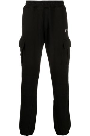 Off-White New Logo cargo-style track pants