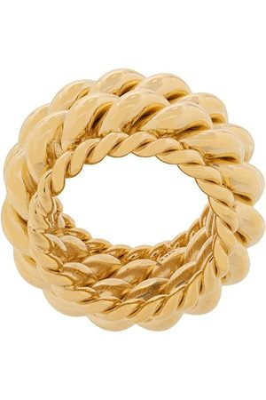 Isabel Lennse Women Rings - Twisted spin ring