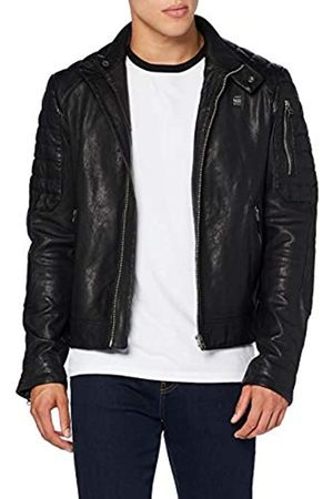 G-Star Men's Suzaki Leather Jacket