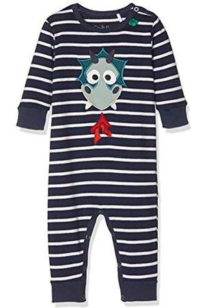 Green Cotton Baby Boys' Dragon Stripe Bodysuit