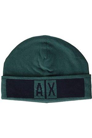 Armani Men's Beanie Hat with Logo Beret