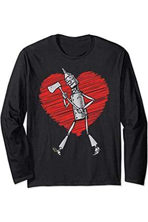 The Wizard of OZ 365 Retro Wonderful Wizard of OZ Vintage Scribble Heart Tin Man Long Sleeve T-Shirt