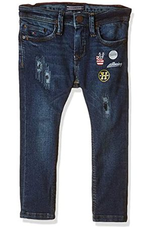 Tommy Hilfiger Boy's Steve Slim Tapered Vvbst Jeans