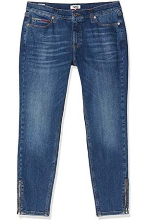 Tommy Hilfiger Women's Nora MR Skinny Ankle Zip ADY Straight Jeans