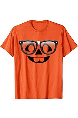 Nerdy Pumpkin Halloween Tees Nerdy Pumpkin with Glasses
