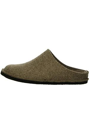 Haflinger Unisex Adult Flair Soft Slippers - (peat 550)