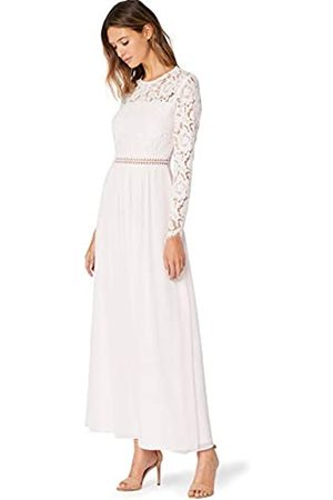 TRUTH & FABLE Amazon Brand - Women's Maxi Lace A-Line Dress, 14