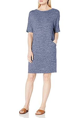 Daily Ritual Cozy Knit Seamed Pocket Dress