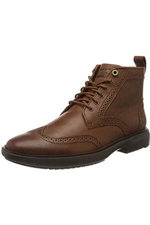 FitFlop Men's ODYN Brogue Boots Classic, (Dark Tan 277)
