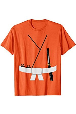 Funny Halloween Designs by FunJDesign Cute Design White Belt Karate Custome Halloween T-Shirt