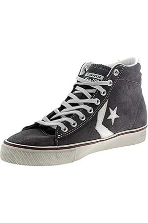 Converse Unisex Adults' Lifestyle Pro Leather Vulc Distressed Mid Low-Top Sneakers, (Storm Wind/Star 031)