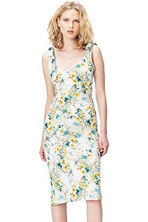 FIND Amazon Brand - Women's Floral Dress, 10