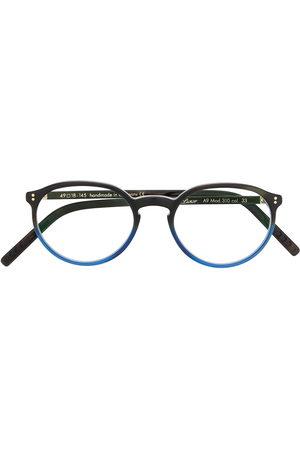Lunor Gradient round-frame glasses