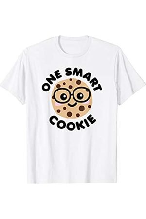 Detour Shirts One Smart Cookie Cute Kawaii Nerd Humor Shirt