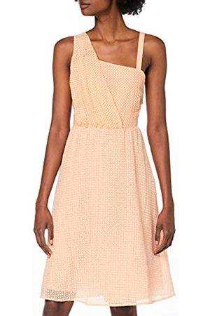 Yargıcı Womens 9YKEL7115X One-Shoulder Asymmetric Sleeveless Dress - - 16