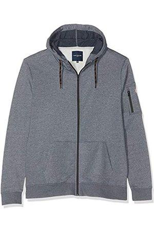 TOM TAILOR Men+ Mens 1016728 Hooded Long Sleeve Track Jacket - - XXXX-Large