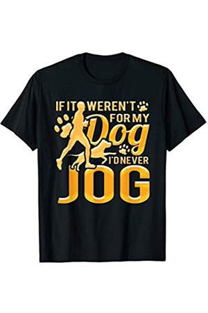 Dogs Run Family Adam and Marky Funny Dog Runners Gift For A Jogger And Dog Lover T-Shirt