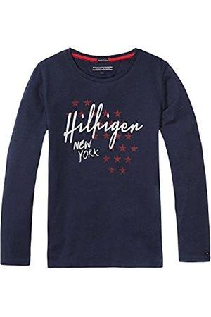Tommy Hilfiger Girls' ICONICS CN Knit L/S T-Shirt