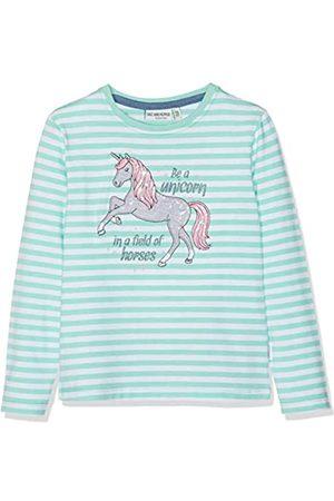 Salt & Pepper Salt and Pepper Girls' Longsleeve Friend Stripe T-Shirt, (Fresh Melange 623)