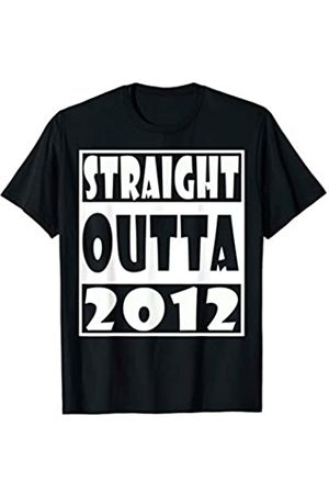 Straight Outta birthday funny t shirt Straight Outta 2012 T-Shirt