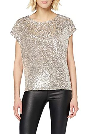 New Look Women's Go Sequin Oversize Tee Shirt