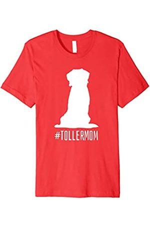 Nova Scotia Duck Tolling Retriever T-Shirts Nova Scotia Duck Toller Mom Shirt Gift for Women