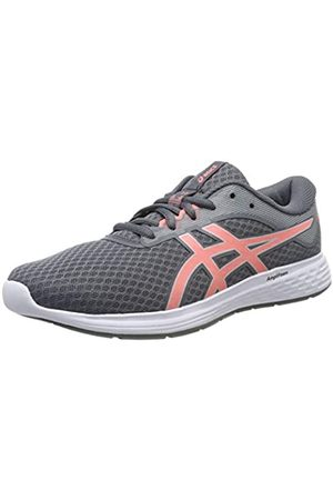 Asics Women's Patriot 11 Running Shoes, (Metropolis/Sun Coral 020)