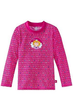 Schiesser Girl's Aqua Prinzessin Lillifee Bade-Shirt Cover-Up