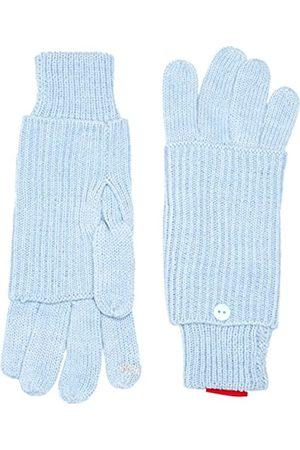 s.Oliver Women's 39.510.96.3128 Gloves, -Blau ( Melange 52W1)
