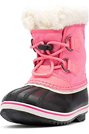 sorel Unisex Kid's Yoot PAC Nylon Snow Boot, Lollipop, Glo