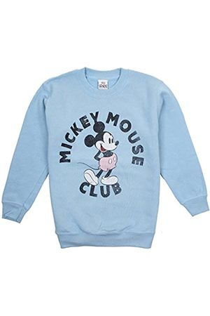 Disney Girl's Mickey Mouse Pink Shorts Sweatshirt