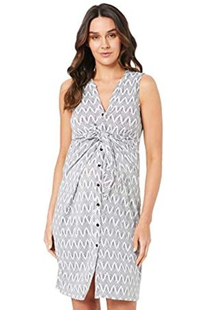 Ripe Maternity Women's Chevron Caress Business Casual Dress