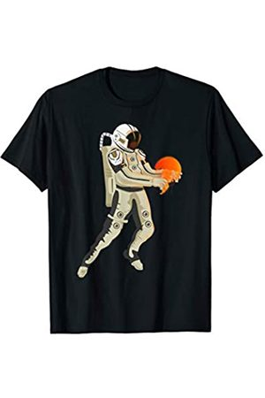 Marine Life Apparel for Women Men Kids Beach Astronaut Jellyfishes Art Dress Gift Orange Jellyfish T-Shirt